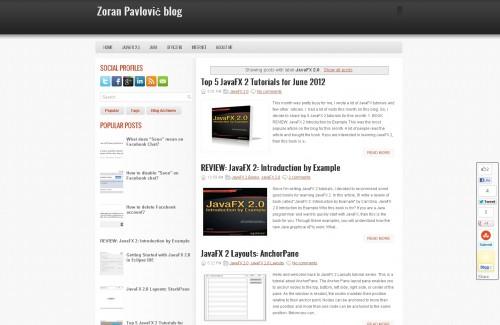 Zoran Pavlović Blog